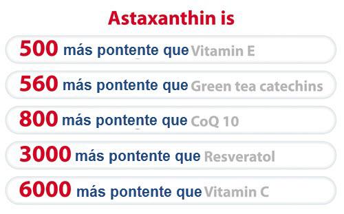 Astaxantina Antioxidante